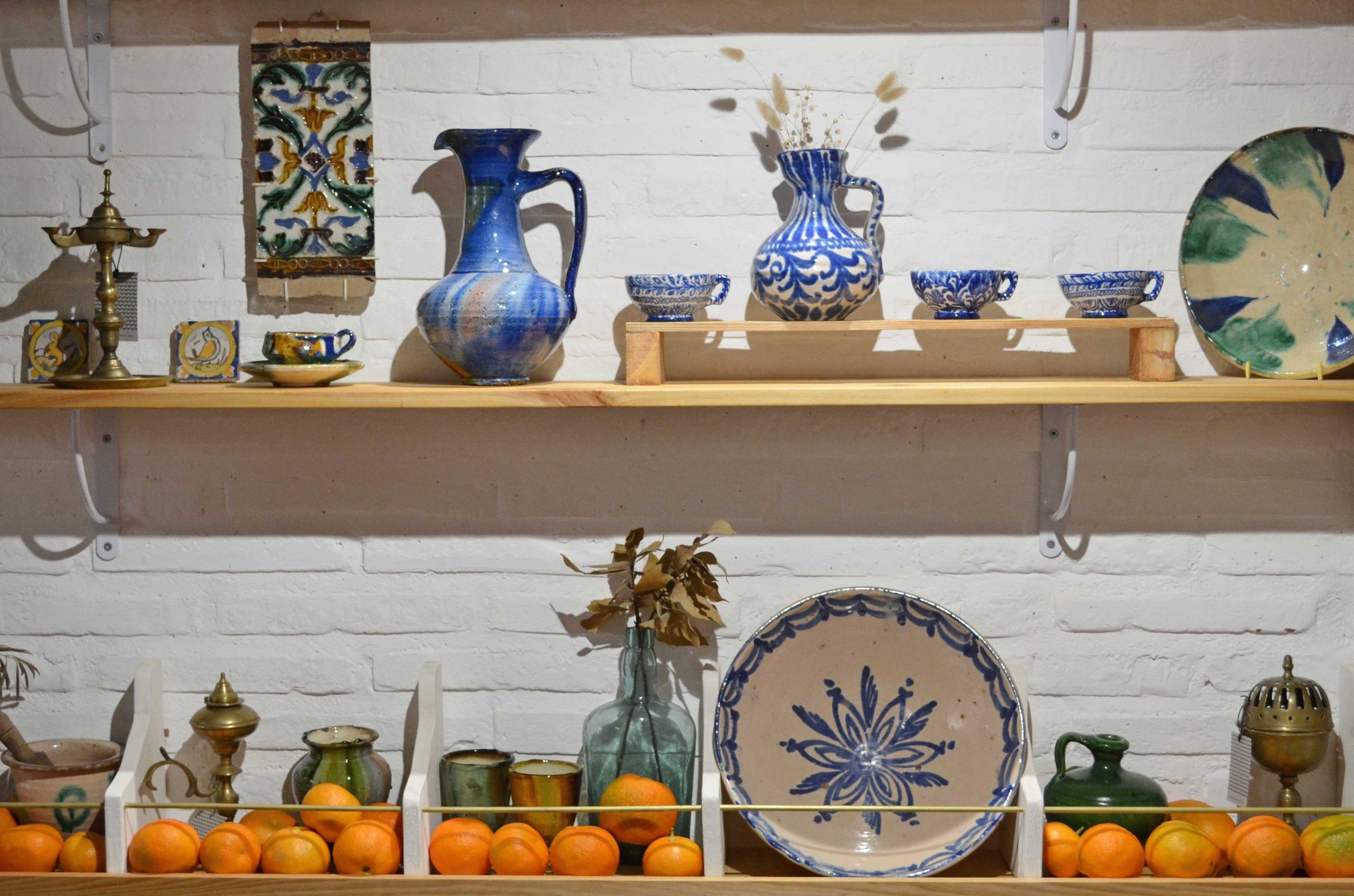 Tienda de cerámica en Granada